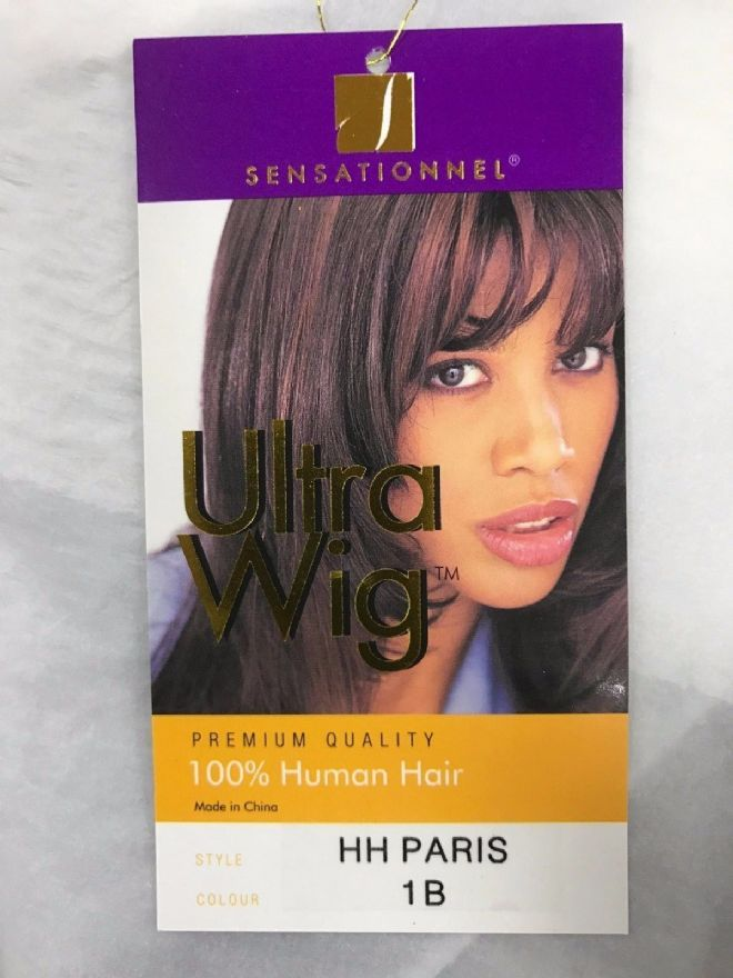 SENSATIONNEL IOO% HUMAN HAIR WIG - PARIS